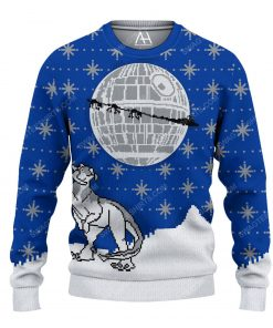 Star wars death star ugly christmas sweater 1 - Copy (2)