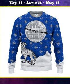 Star wars death star ugly christmas sweater