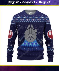 Star wars spaceships ugly christmas sweater