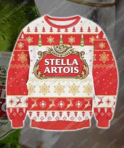Stella artois beer ugly christmas sweater - Copy (3)
