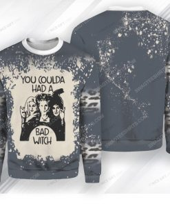 You coulda had a bad witch hocus pocus ugly christmas sweater 1 - Copy (2)