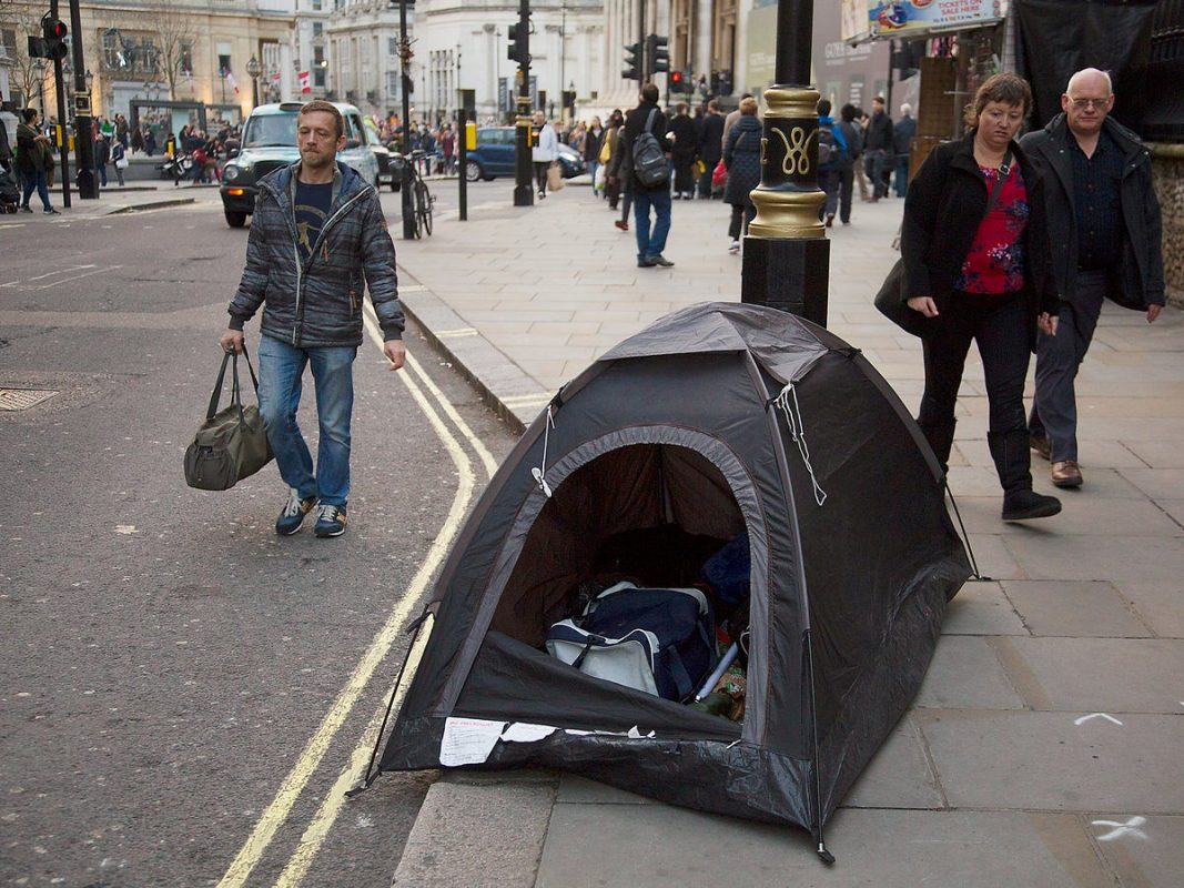 According to municipalities homelessness in London will reach an all-time high by Christmas